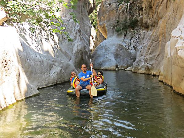 Rafting Gole di Tiberio